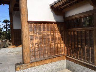 千葉県 長屋門 塗装工事